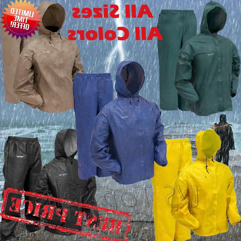 rain suit ultra lite waterproof jacket pants