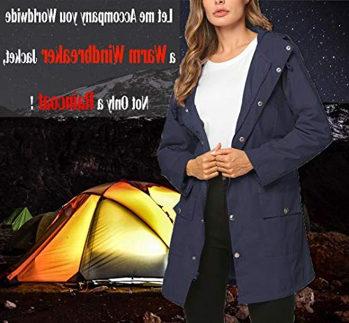 Rain for Women Warm Waterproof Outdoor