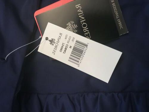 Rain Forest Coat/Cobalt M Resistant Fabric