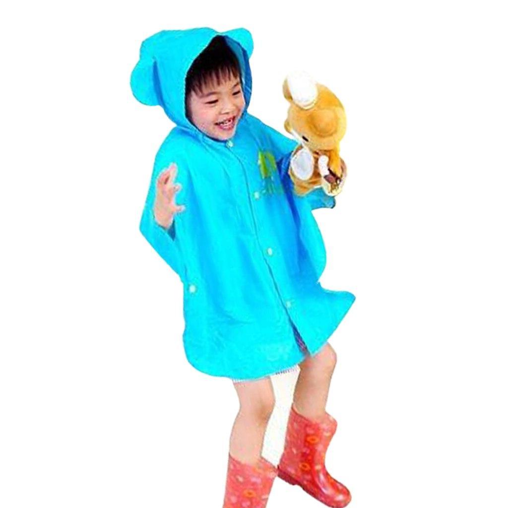 Raincoat For Cartoon Kids Rainwear Poncho Boys <font><b>Rain</b></font>