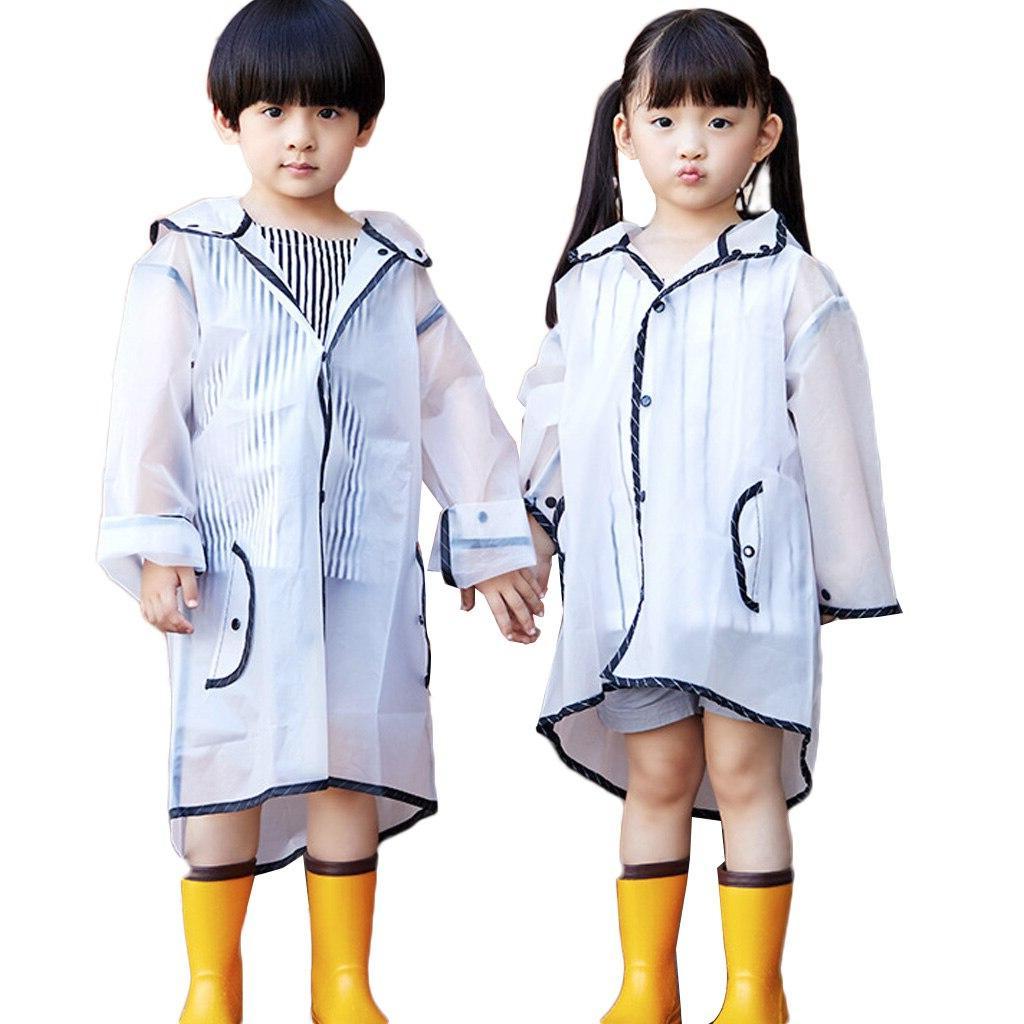 Raincoat For Children Kids Rainwear Poncho <font><b>Coat</b></font> Kindergarten