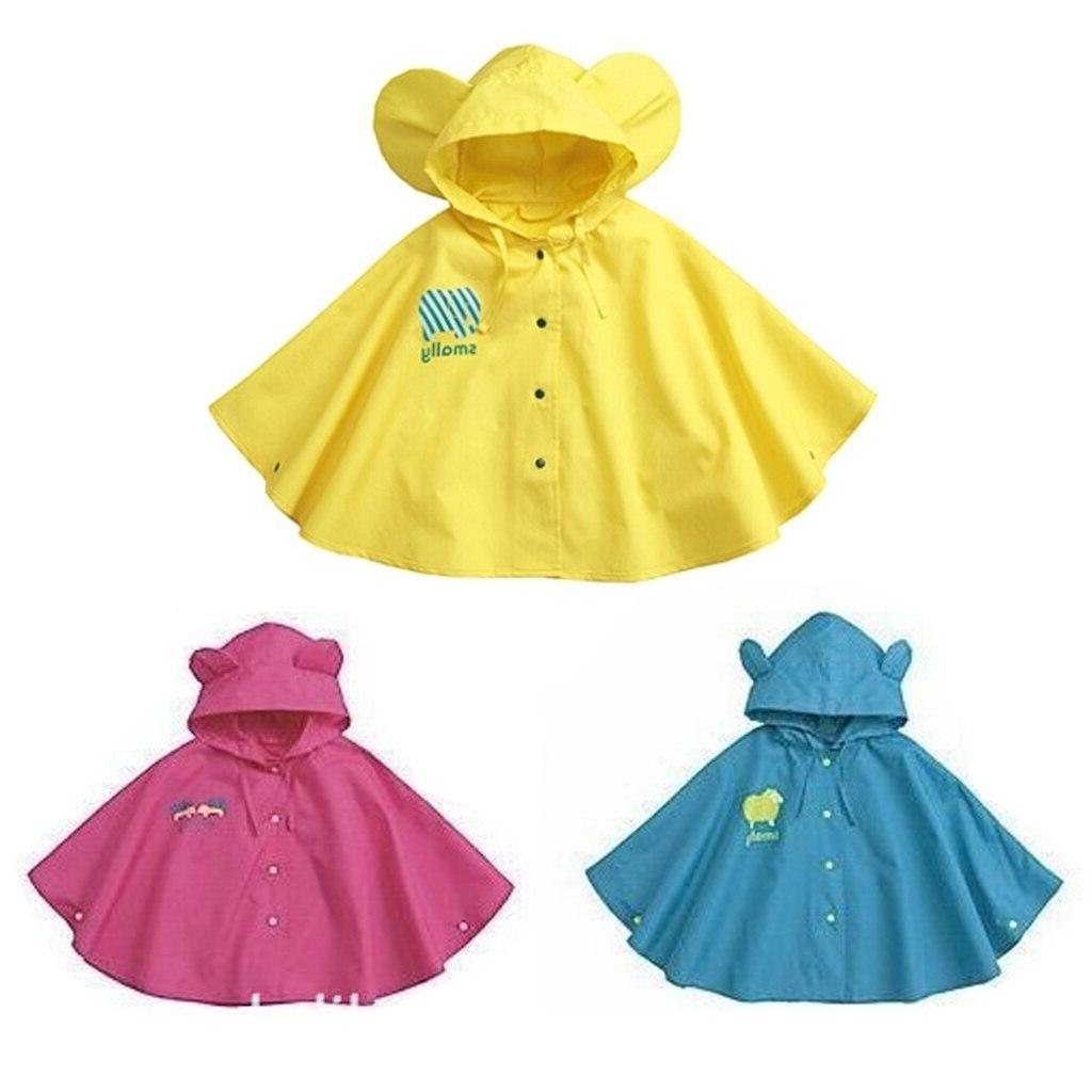 raincoat for children cartoon kids rainproof rainwear