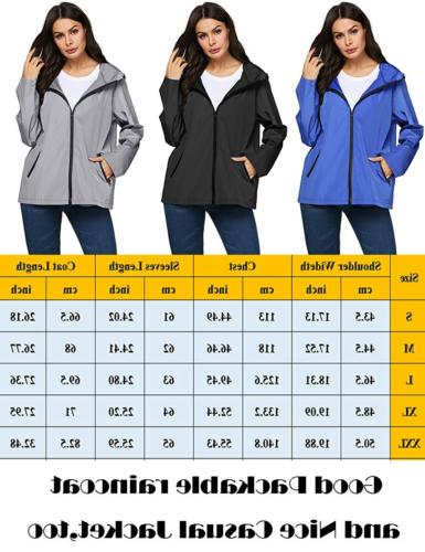 LOMON Modern Rain JacketBlue,M
