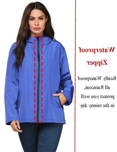 LOMON Raincoat Women Modern Rain