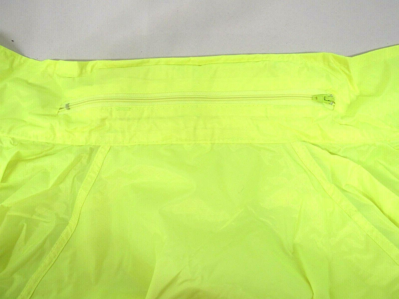 Reflective Tape Raincoat Jacket Design Road