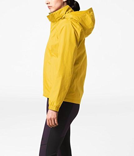 The Face Women's Resolve Jacket Leopard Yellow Leopard Yellow