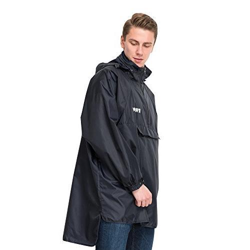 resolve 2 lightweight long raincoat