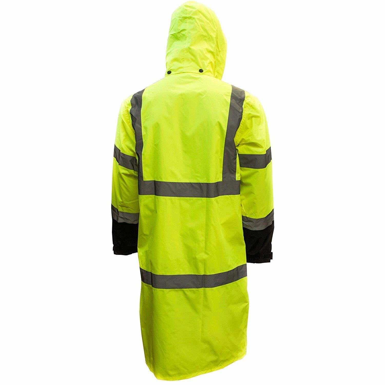 RK Class Reflective Long Rain Coat