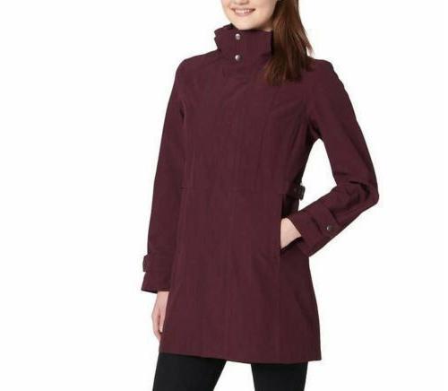 NEW! SALE! Women's Signature Rain Coat Hood SZ/CLR - F53