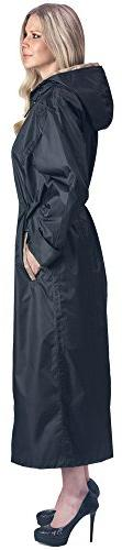 Cloudnine Umbrellas Shaynecoat Raincoat for Women Black and