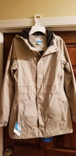 Columbia Shine Struck II Womens Rain Jacket US Medium NWT