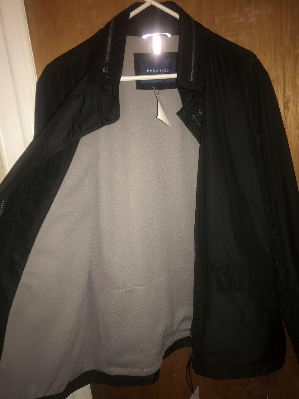 Cole Mens Packable Rain Black Large L