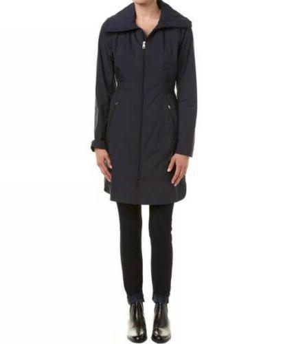 signature size xs packable rain jacket coat