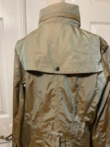 COLE Front Long Rain Trench -