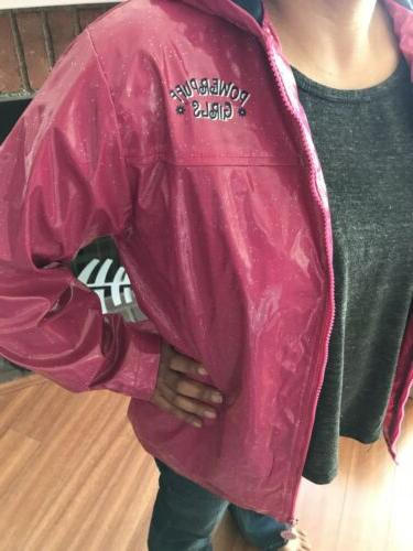 Powerpuff Sparkly Pink Lightweight Rain Vintage! Rare!