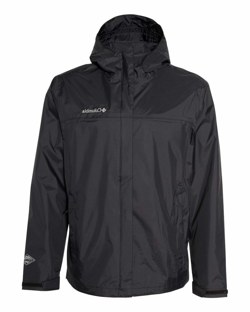 Columbia Men's Waterproof, Rain Jacket, NEW, Packable