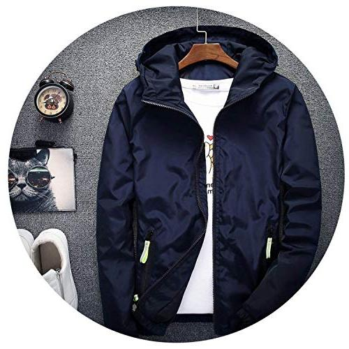 spring autumn young breaker hooded