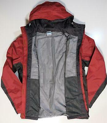 Columbia Timber Jacket Men's sizes L Hooded Rain