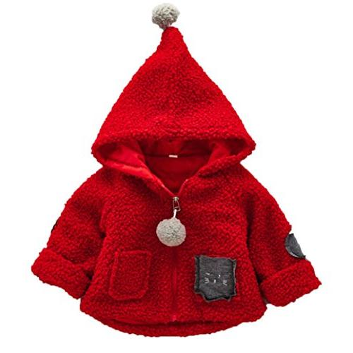 toddler autumn winter cotton hooded