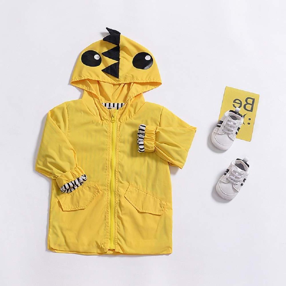 Toddler Baby Boy Duck Hoodie Zipper Coat Outfit