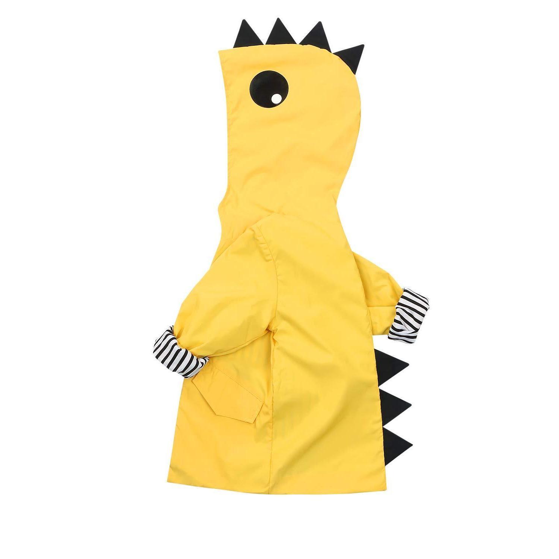 toddler baby boy girl duck raincoat cute