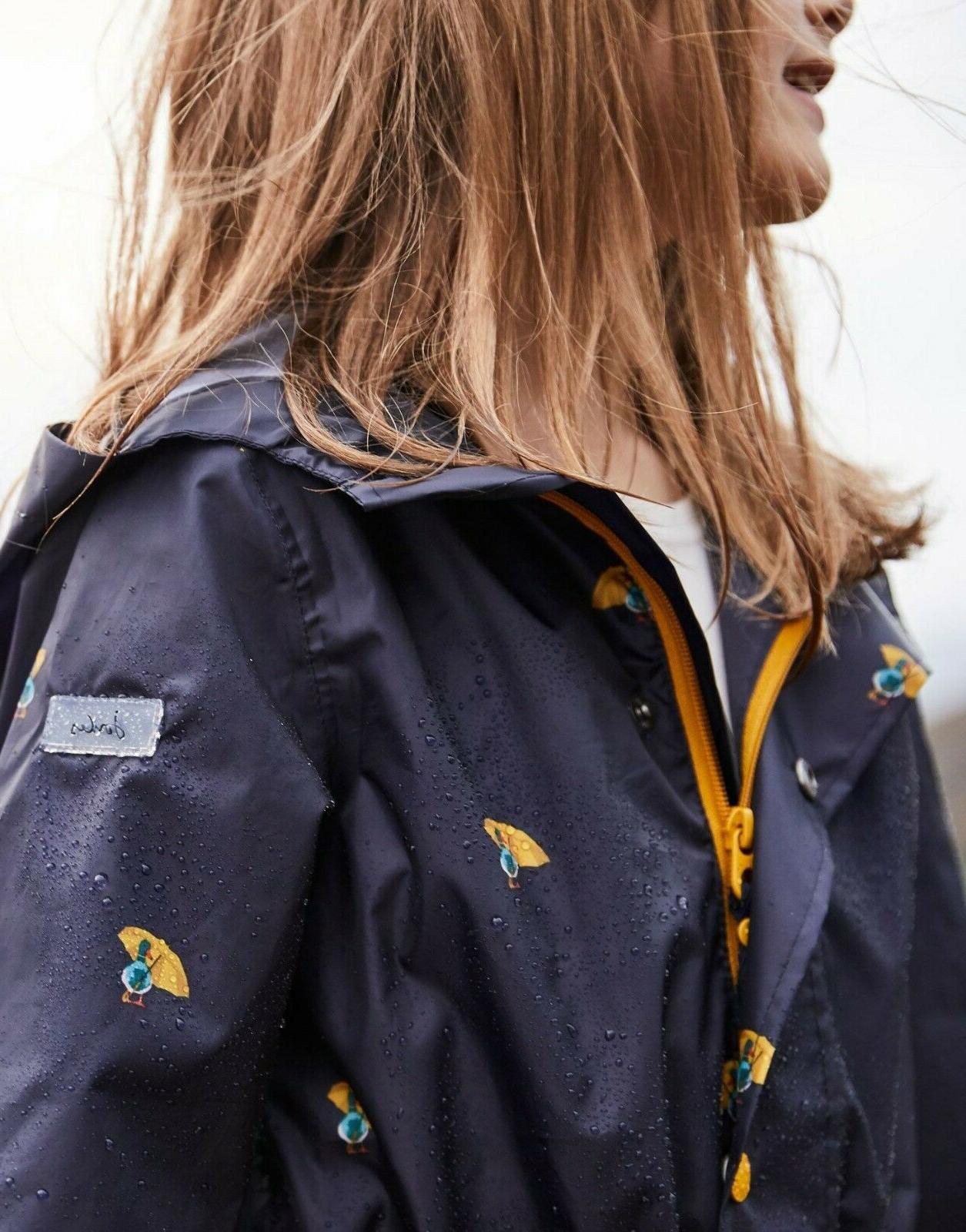 Joules Packaway Coat Umbrella Duck Size