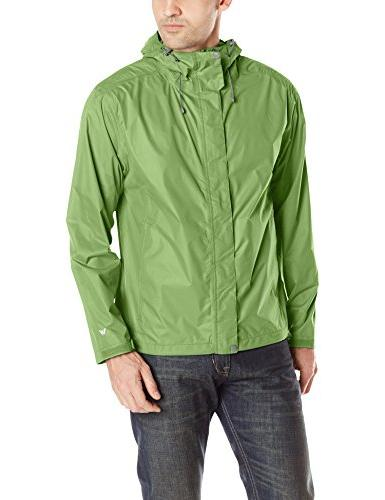 White Sierra Men's Trabagon Rain Shell Raincoat, X-Large,