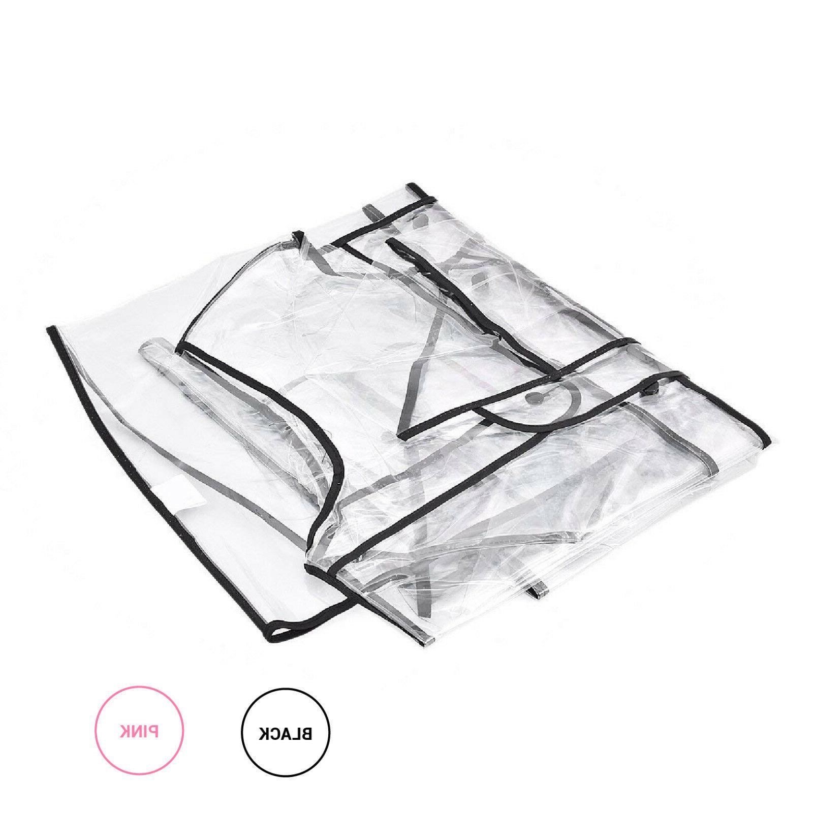 Wellness Transparent Raincoat PVC Coat Hoodie Men