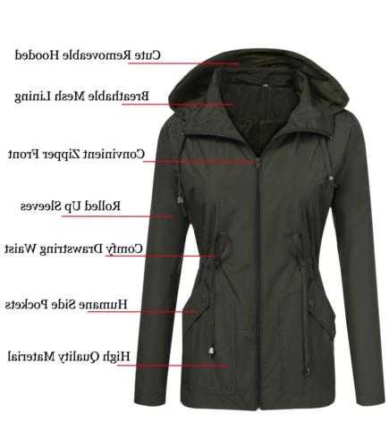 ZHENWEI Travel Raincoat Retro Spring Jacket