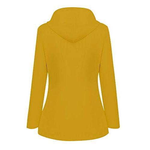 Ulanda Womens Plus Hooded Raincoat Rain Jacket Windbreaker