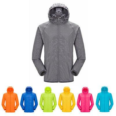 Unisex Women Windproof Outdoor Sports Rain