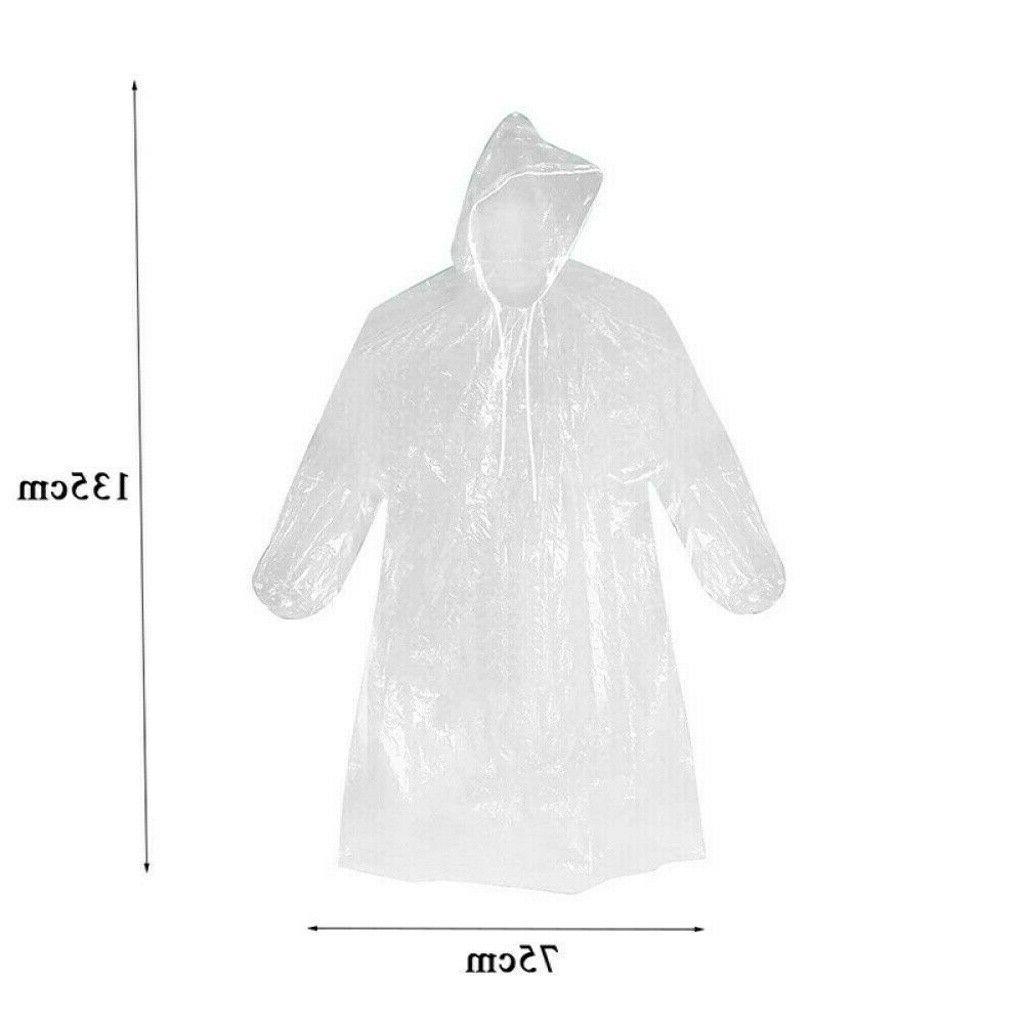 Unisex Adult Emergency Rainwear Camping Coat 6X