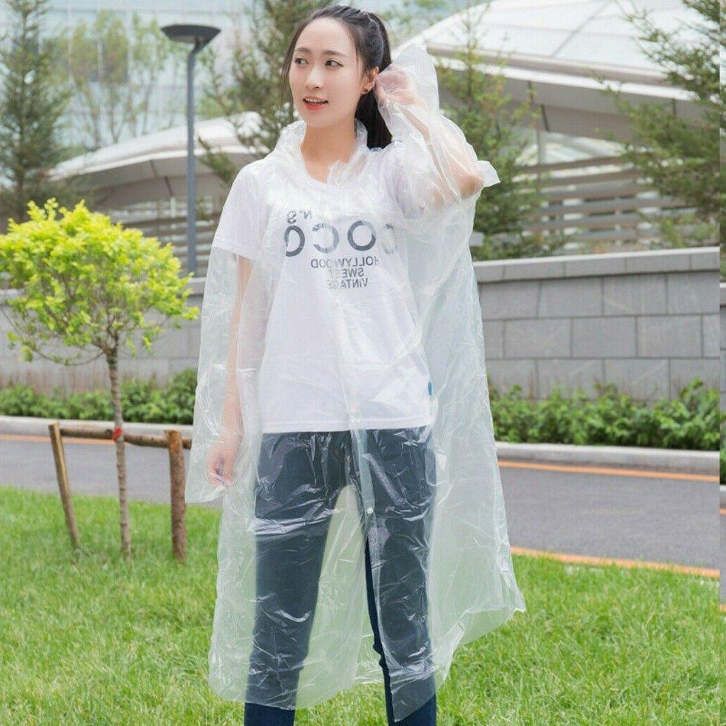 Unisex Raincoats Disposable Emergency Rainwear Hike