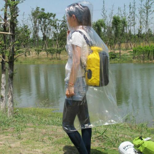 US and Waterproof Hooded Raincoat Rain Rainwear