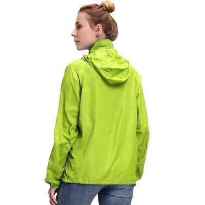 US and Waterproof Windproof Jacket Outdoor Bicycle Sport Rain Coat Hot