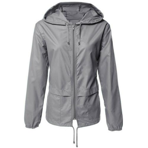 Women Outdoor Camping Windbreaker Rain