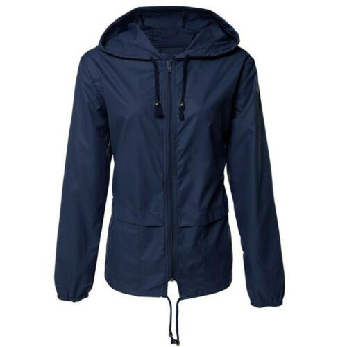 Women Jacket Waterproof Rain