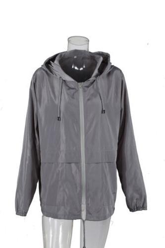US Men Waterproof Windbreaker Rain Coat