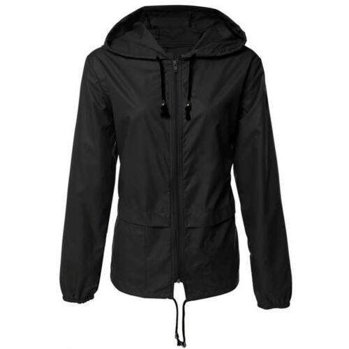 US Jacket Waterproof Hoodie Hiking Windbreaker Sport
