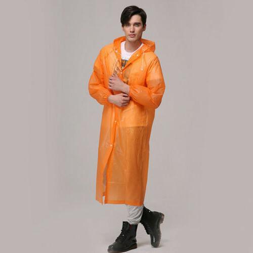US Waterproof Jacket Hooded Raincoat
