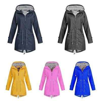 US Hooded Outdoor Waterproof Rain Size