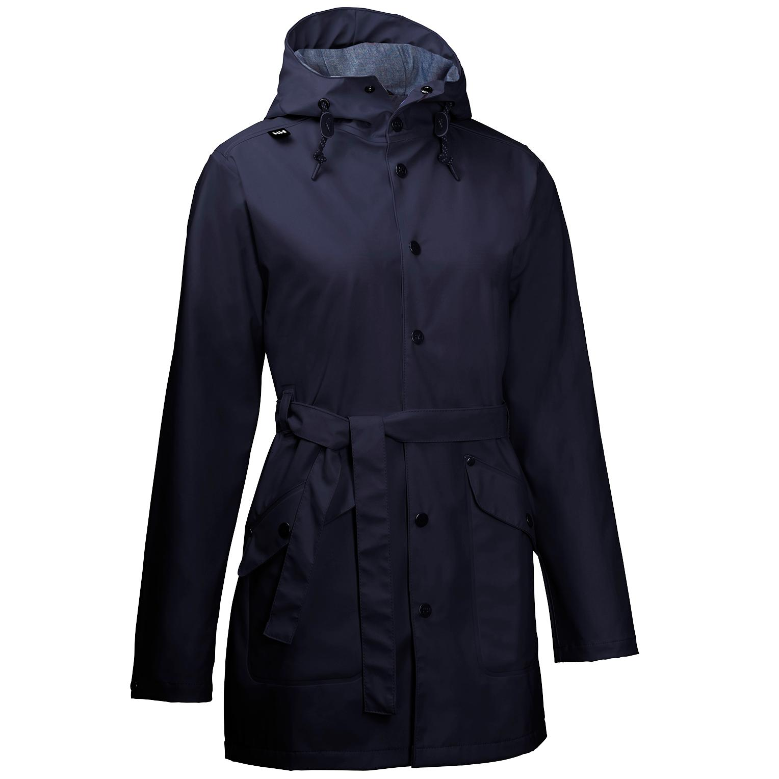 Helly RAIN COAT, Size S/P New with Color Tech