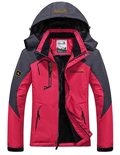 warm waterproof ski jacket
