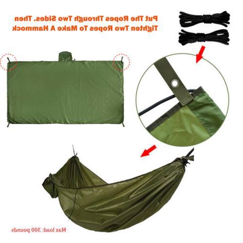 Waterproof Tarp Camping Backpacking Mat Coat