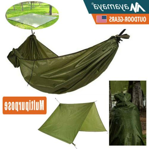 waterproof hammock rainfly tent tarp camping backpacking