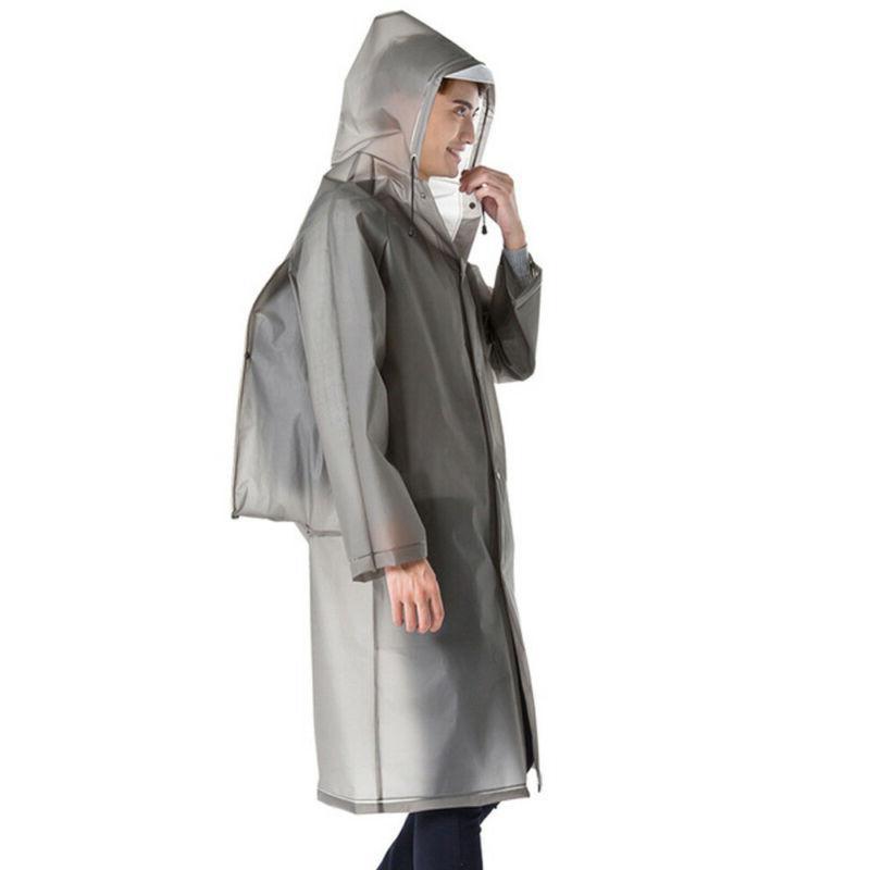 Waterproof Jacket Hooded Rain Poncho Travel