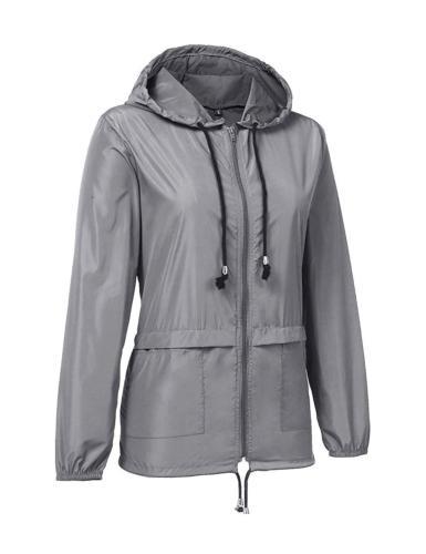 ZHENWEI Waterproof Lightweight Outdoor Trench Coats