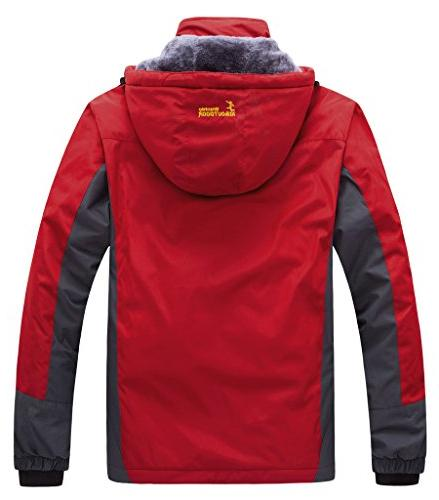 WantDo Waterproof Mountain Jacket Windproof Jacket