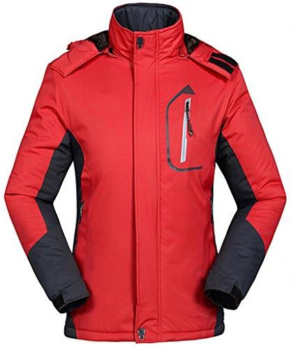 waterproof mountain jacket fleece windproof