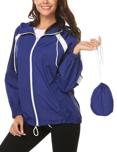 waterproof raincoat women outdoor waterproof rain jacket